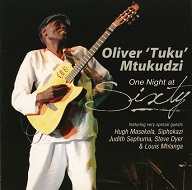 Oliver 'Tuku' Mtukudzi  ONE NIGHT AT SIXTY CD.jpg